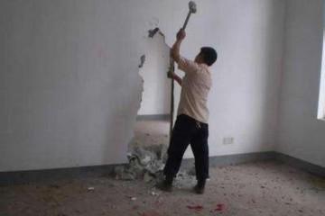 德阳装修敲墙是怎样收费的,一般多少钱一平方米